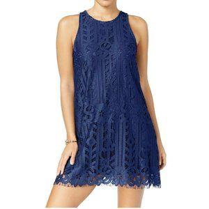Speechless XS Navy Blue Lace Dress RETAG AP37
